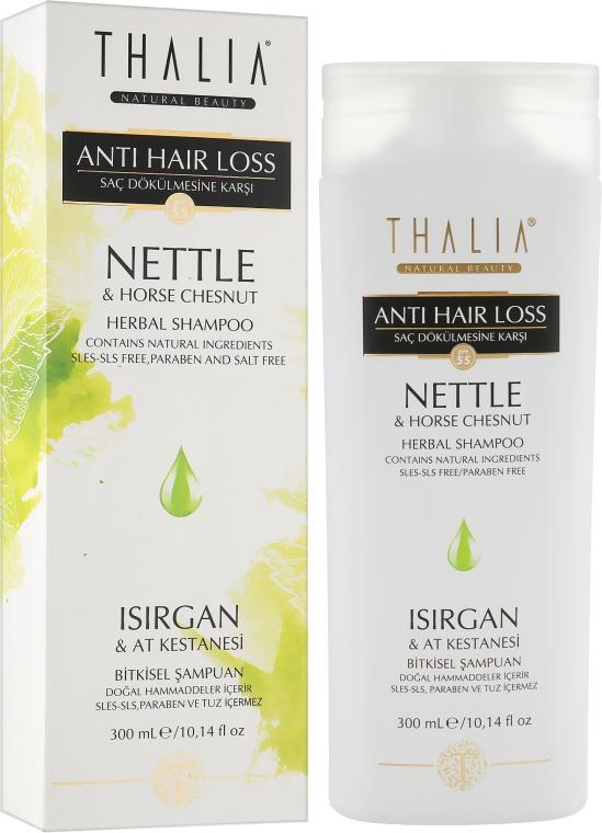 Шампунь с экстрактом крапивы и каштана - Thalia Anti Hair Loss Nettle&Horse Chesnut