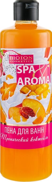 "Пена для ванны ""Тропический коктейль"" - Bioton Cosmetics Spa Aroma"
