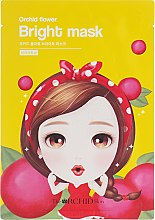 Тканевая маска для лица осветляющая - The Orchid Skin Orchid Flower Bright Mask — фото N1