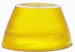 "Желейное мыло для душа из дыни с папайей ""Прикоснись к солнцу"" - Stenders Melon/Papaya Jelly Soap Oh my Jello — фото N5"