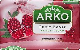Духи, Парфюмерия, косметика Мыло - Arko Fruit Boost Beaty Soap Pomegranate