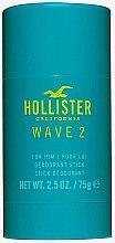 Духи, Парфюмерия, косметика Hollister Wave 2 For Him - Дезодорант-стик