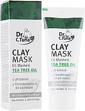Духи, Парфюмерия, косметика Маска для лица с белой глиной и маслом чайного дерева - Farmasi Dr.Tuna Clay Mask