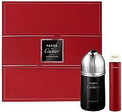 Духи, Парфюмерия, косметика Cartier Pasha de Cartier Edition Noire - Набор (edt/100ml + edt/15ml)