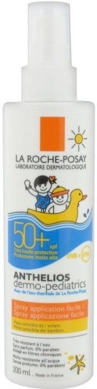 Солнцезащитный спрей для чувствительной кожи детей SPF50+ - La Roche-Posay Anthelios Dermo-Pediatrics SPF 50+ Easy Application Spray