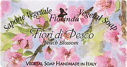 "Духи, Парфюмерия, косметика Мыло натуральное ""Цветы персика"" - Florinda Sapone Vegetale Vegetal Soap Peach Blossom"