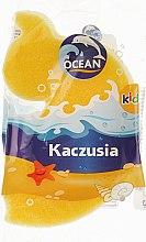"""Духи, Парфюмерия, косметика Детская губка для купания """"Kaczusia"""", желтая - Ocean"""