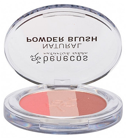 Румяна для лица - Benecos Natural Trio Blush