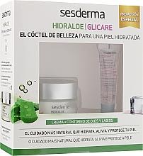 Духи, Парфюмерия, косметика Набор - SesDerma Laboratories Hidraloe + Glicare (cr/50ml+eye/lip/gel/15ml)