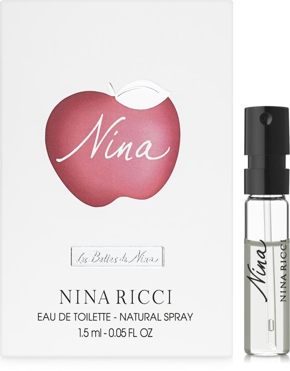 Nina Ricci Nina - Туалетная вода (пробник)