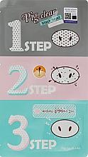 Духи, Парфюмерия, косметика Набор для удаления черных точек - Holika Holika Pig-Nose Clear Black Head Kit
