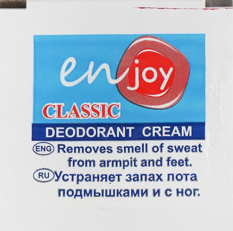 Эко-крем-дезодорант - Enjoy & JoyClassic Deodorant Cream (пробник)
