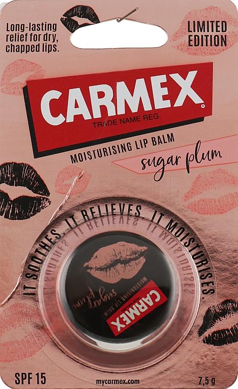 """Бальзам для губ """"Сахарная слива"""" в баночке - Carmex Jar Sugar Plump"""