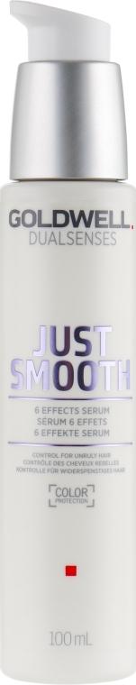 Сыворотка разглаживающая для непослушных волос - Goldwell Dualsenses Just Smooth 6 Effects Serum