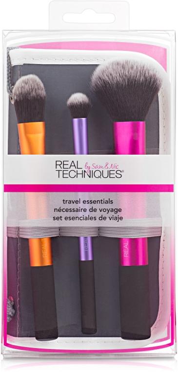 Набор кистей для макияжа - Real Techniques Travel Essentials Set