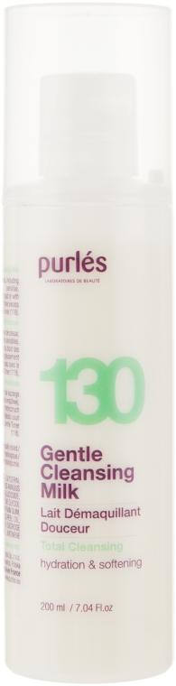 Нежное очищающее молочко для лица - Purles 130 Gentle Cleansing Milk