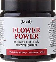 Увлажняющее масло для тела с кокосовым маслом - Iossi Regenerating Body Butter — фото N1