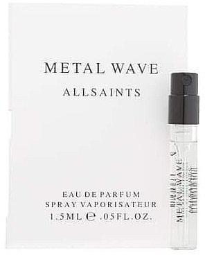 Allsaints Metal Wave - Парфюмированная вода (пробник)
