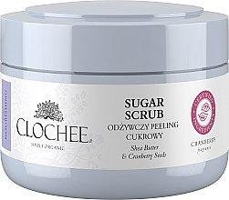 Духи, Парфюмерия, косметика Питательный сахарный пилинг с клюквой - Clochee Nourishing Sugar Scrub Shee Butter And Cranberry