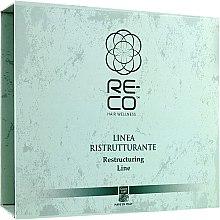 Духи, Парфюмерия, косметика Набор для реконструкции волос - Green Light Re-Co Hair Wellness (shm/300ml + oil/250ml + hair/cr/250ml + boos/50ml)