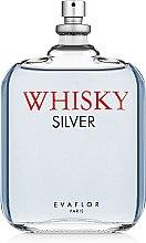 Духи, Парфюмерия, косметика Evaflor Whisky Silver - Туалетная вода (Тестер без крышечки)