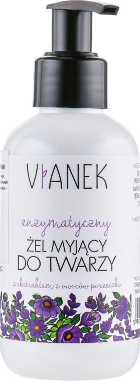 Гель для лица с энзимами - Vianek Face Gel