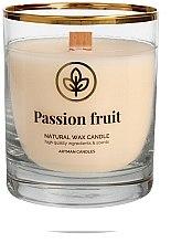 Духи, Парфюмерия, косметика Декоративная свеча в стакане, 8х9.5см - Artman Passion Fruit