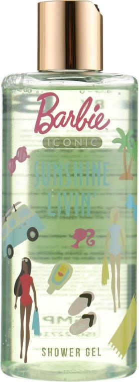 """Гель для душа детский """"Sunshine Livin'"""" - Bi-Es Barbie Iconic Shower Gel"""