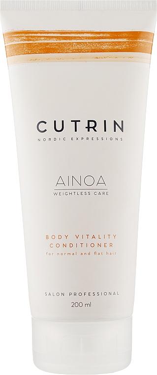 Кондиционер для укрепления и объема - Cutrin Ainoa Body Vitality Conditioner