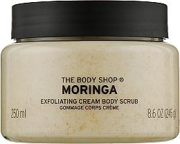 Духи, Парфюмерия, косметика Кремовый скраб для тела - The Body Shop Moringa Exfoliating Cream Body Scrub