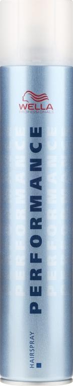 Лак для волос сильной фиксации - Wella Professionals Performance Hair Spray