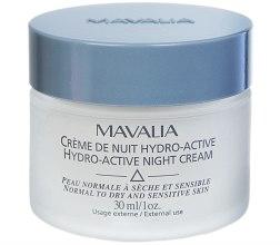 Духи, Парфюмерия, косметика Гидро-активный ночной крем - Mavalia Hydro-Active Night Cream