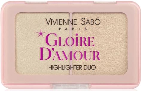 Палетка хайлайтеров - Vivienne Sabo Vs Gloire D'Amour