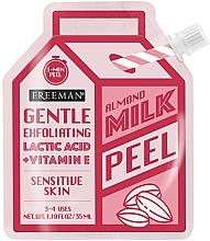 Духи, Парфюмерия, косметика Пилинг для лица с миндальным молоком - Freeman Almond Milk Peel