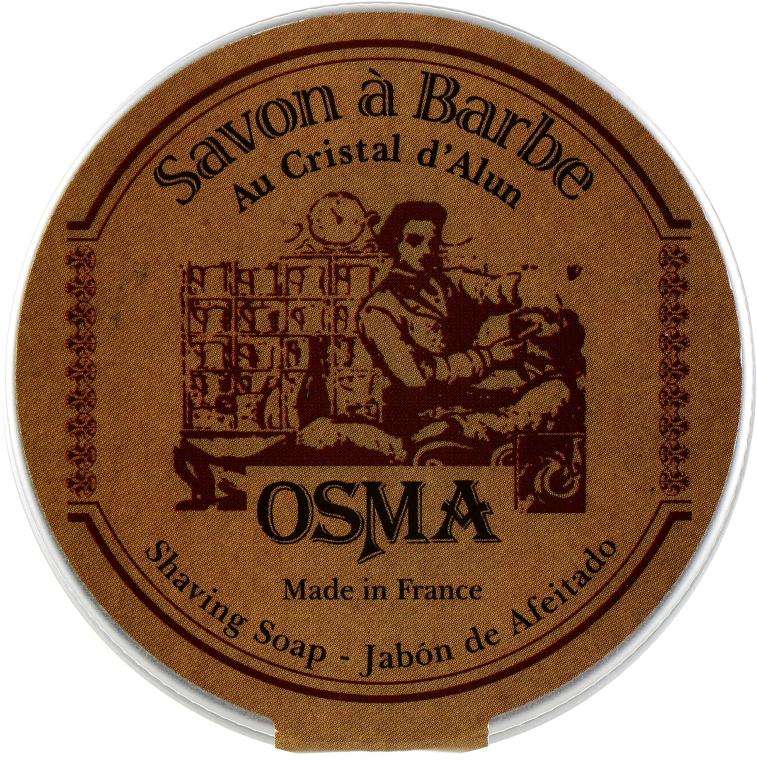 Мыло для бритья на основе квасцов - Osma Rasage