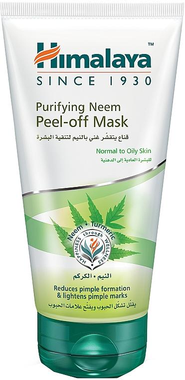 Очищающая маска-пленка для лица с нимом - Himalaya Herbals Neem Peel-Off Mask