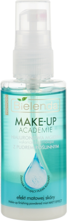 Матирующий спрей для фиксации макияжа - Bielenda Make-Up Akademie