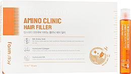 Духи, Парфюмерия, косметика Филлер для волос - FarmStay Dermacube Amino Clinic Hair Filler