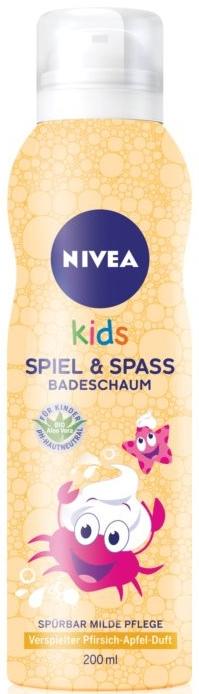 Детская пена для душа - Nivea Kids Bio Aloe Vera