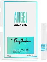 Духи, Парфюмерия, косметика Thierry Mugler Angel Aqua Chic - Туалетная вода (пробник)