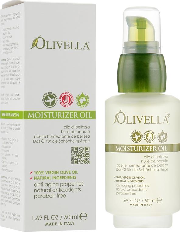 Увлажняющее масло для лица и тела - Olivella All Natural Virgin Olive Oil Moisturizer
