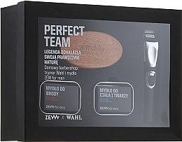 Духи, Парфюмерия, косметика Набор - Zew Wahl (soap/2x85ml + brush + trimmer)