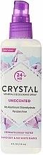 Духи, Парфюмерия, косметика Дезодорант-спрей для тела - Crystal Body Deodorant Spray