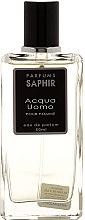Духи, Парфюмерия, косметика Saphir Parfums Acqua Uomo - Парфюмированная вода (тестер с крышечкой)