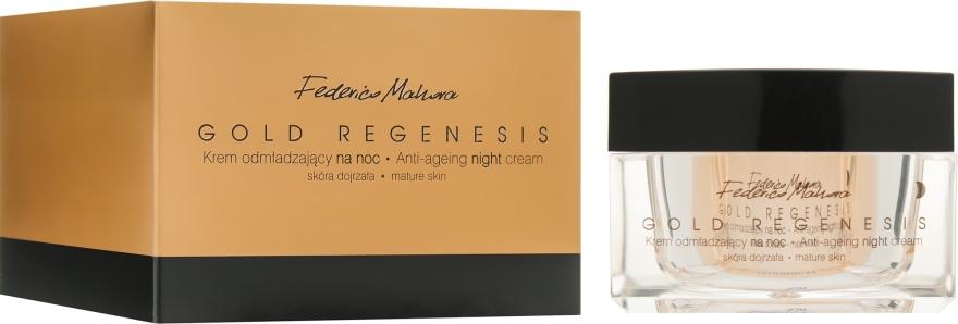 Омолаживающий ночной крем для лица - Federico Mahora Gold Regenesis