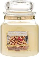 Духи, Парфюмерия, косметика Свеча в стеклянной банке - Yankee Candle Belgian Waffles