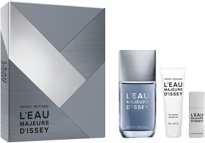 Issey Miyake L'Eau Majeure D'Issey - Набор (edt/100ml + edt/20ml + sh/g/75ml)