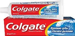 """Освежающая зубная паста """"Крепкие зубы. Свежее дыхание"""" - Colgate — фото N1"""