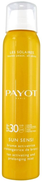 Дымка-спрей для активации и продления загара с высокой степенью защиты - Payot Sun Sensi Tan Activating & Prolonging Mist SPF30