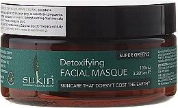 Духи, Парфюмерия, косметика Глиняная детокс-маска для лица - Sukin Super Greens Detoxifying Clay Masque